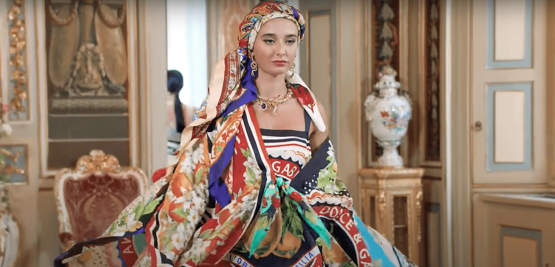 Alta Moda, Palazzo Dolce&Gabbana, July 2020