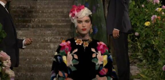 Dolce & Gabbana: The Alta Moda event, Villa Bardini, September 2020