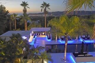 Ibiza, Spain, Villa Dulce Rare Modern Architecture listed for €9.5 million