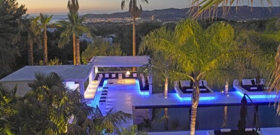 Ibiza, Spain, Villa Dulce Rare Modern Architecture listed for €9.5 million
